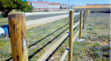 Cercados vallas cerramientos montadores de alambradas - Verjas de madera ...